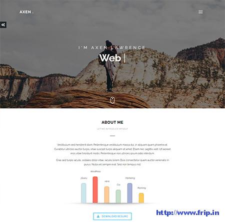 Axen-WordPress-Theme