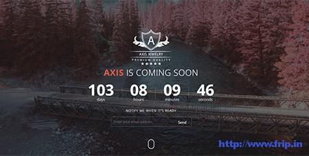 Axis-Coming-Soon-WordPress-Plugin