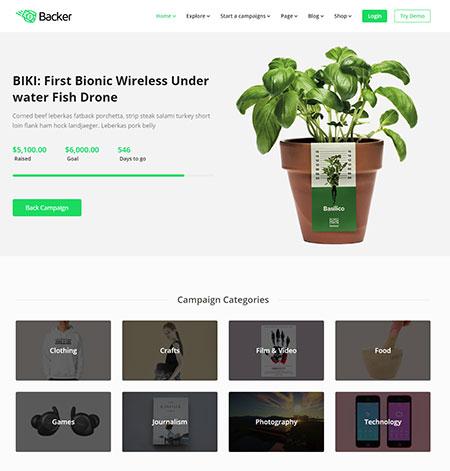 Backer-Crowdfunding-WordPress-Themes