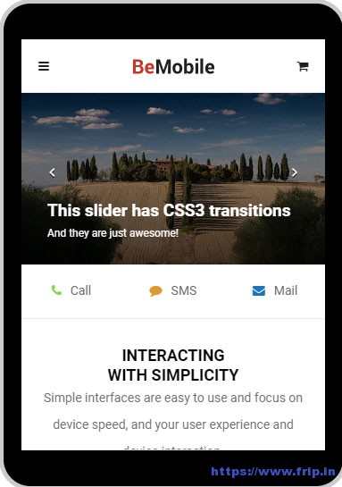 Be-Mobile-Mobile-WordPress-Theme