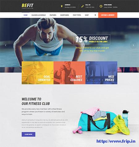 BeFit-Fitness-Club-&-Gym-Theme