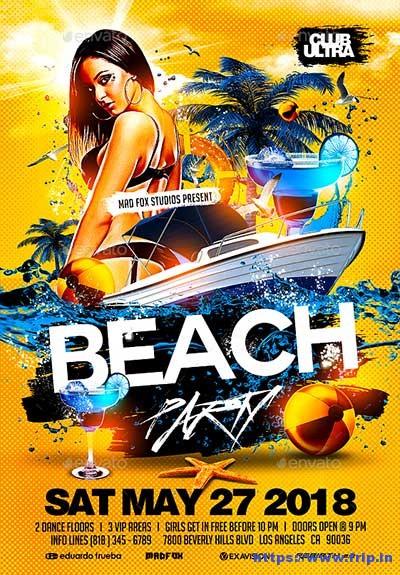 Beach-Party-Flyer