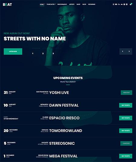 Beat-Music-WordPress-Theme