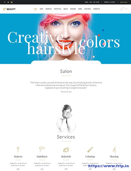 Beauty-Hair-Salon-WordPress-Theme