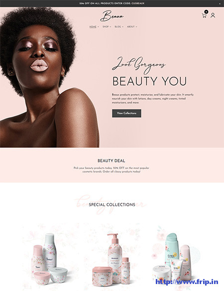 Beaux-Cosmetic-Shop-Theme