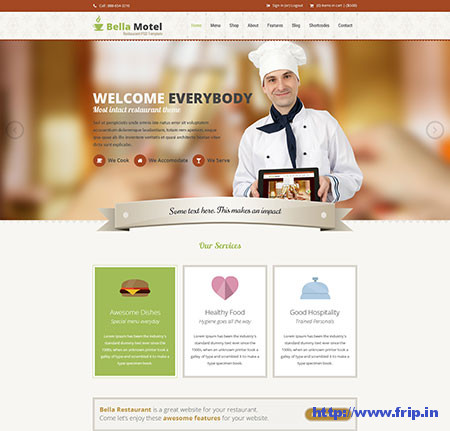 Bella---Restaurant-and-Bakery-PSD-Template