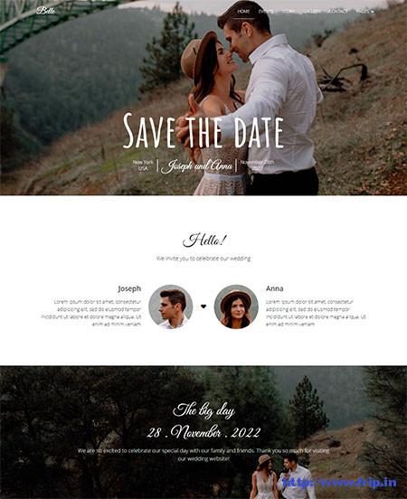 Belle-Wedding-Template