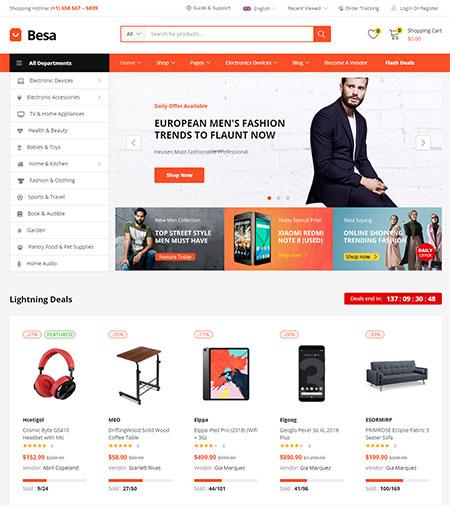 Besa-Elementor-Marketplace-Theme