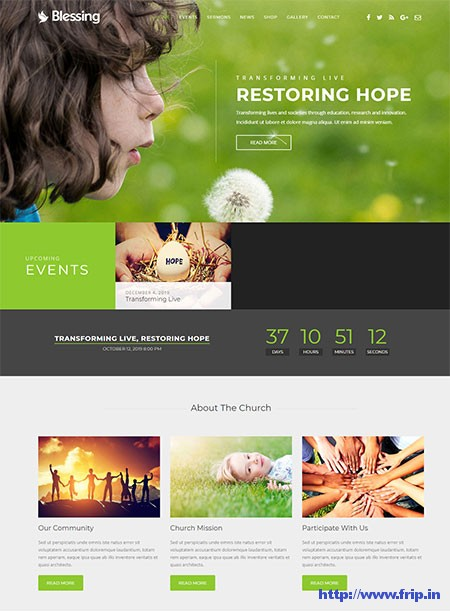 Blessing-Church-WordPress-Theme