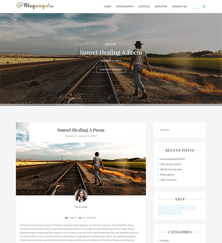 BlogAngel-Lite-WordPress-Theme