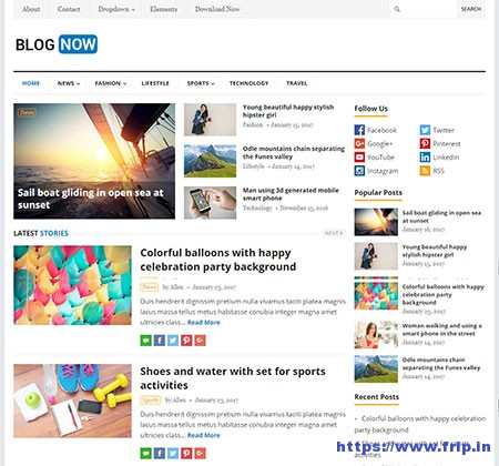 BlogNow-WordPress-Theme