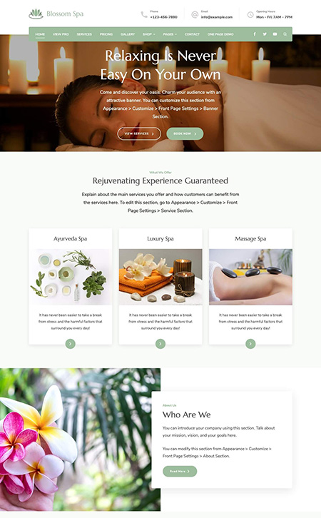Blossom-spa-Pro-WordPress-Theme