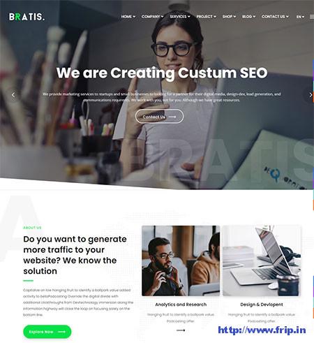 Bratis-WordPress-Theme