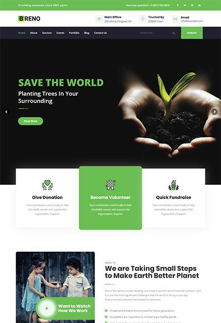 Breno-Green-Energy-WordPress-Theme