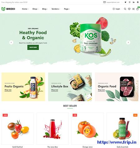 Broxi-Organic-Food-Woocommerce-Theme