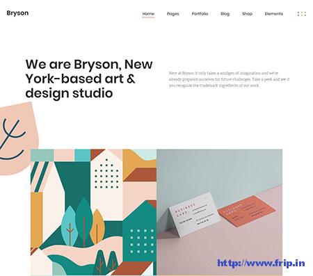 Bryson-Illustration-&-Design-Portfolio-Theme