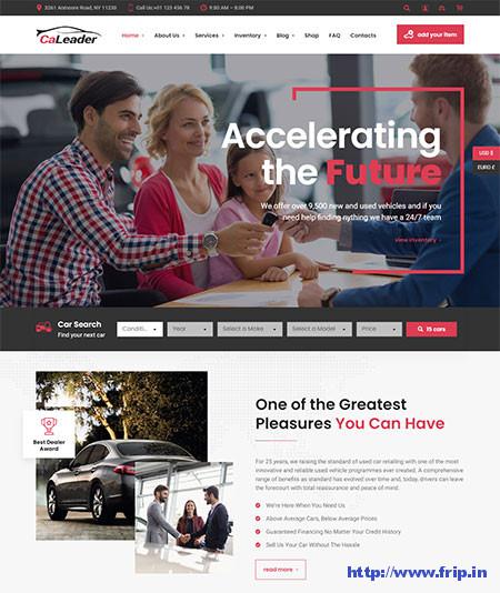 CaLeader-Car-Dealer-WordPress-Theme