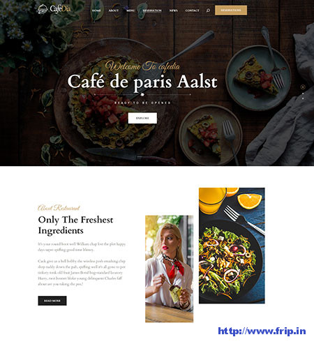 CafeDia-Restaurant-PSD-Template