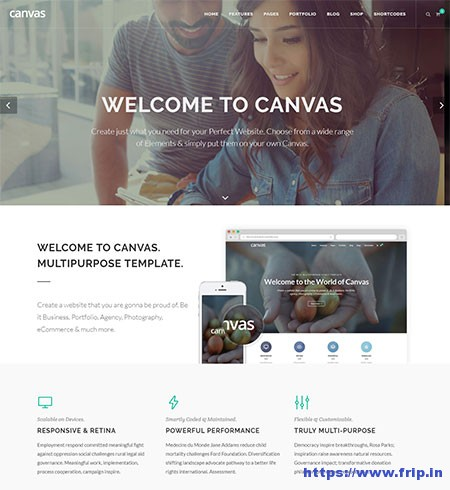 Canvas-Multipurpose-HTML5-Template