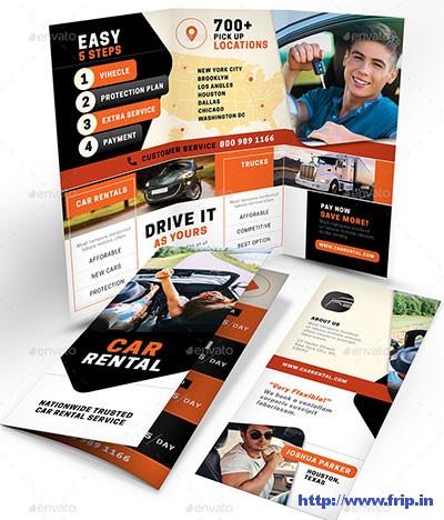 Rent A Car Brochure