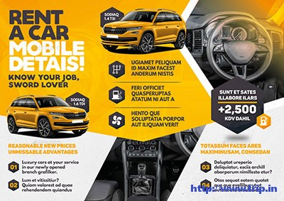 Car-Sales-Tri-Fold-Templates