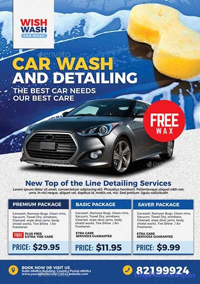 Car-Wash-&-Detailing-Services-Flyer