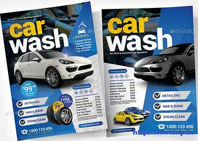 Car-Wash-Flyer-Templates
