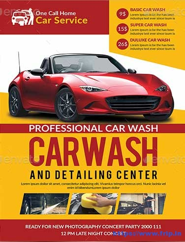 Car-Wash-Flyer