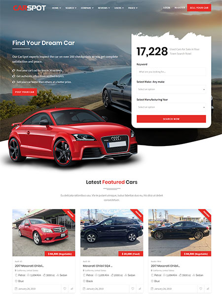 CarSpot-Dealership-WordPress-Theme