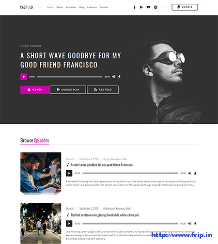 Castilo-Audio-Podcast-WordPress-Theme