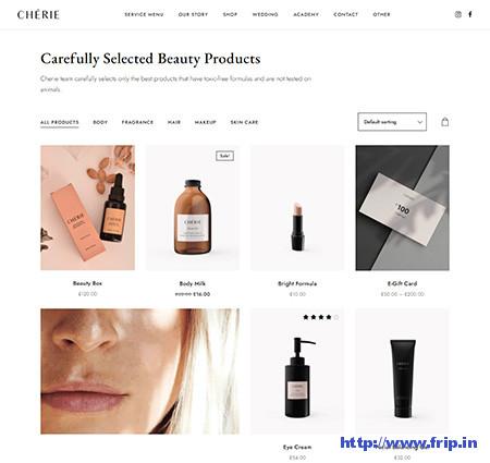 Cherie-Cosmetic-Shop-Theme