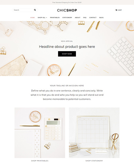 Chicshop-Feminine-WordPress-Theme