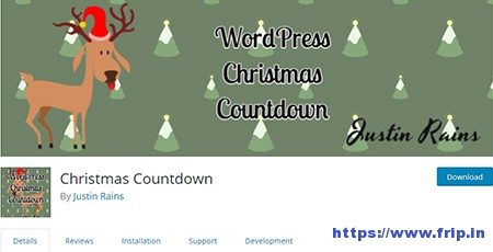 Christmas-Countdown-WordPress-Plugin