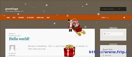 Christmas-Greetings-Plugin