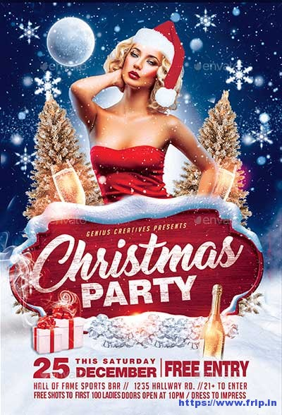 Christmas-Party-Flyer-Template-v1