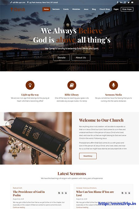 Church-WordPress-Theme