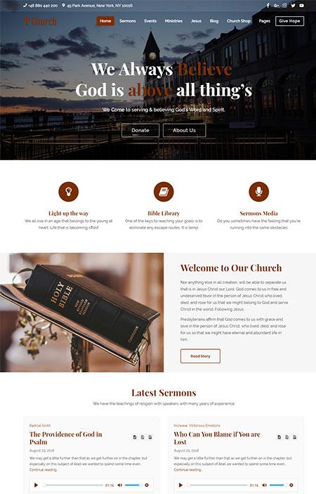 Church-WordPress-Theme