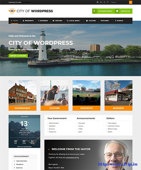 City-of-WP-Municipal-&-Local-Government-Theme