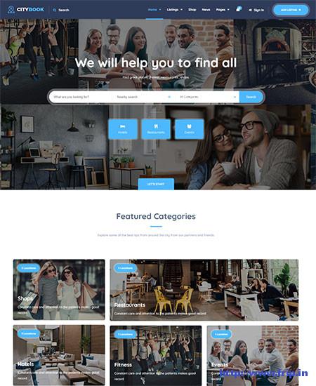 CityBook-Directory-&-Listing-WordPress-Theme