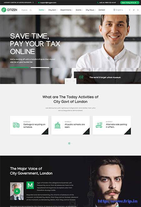 Government WordPress Themes