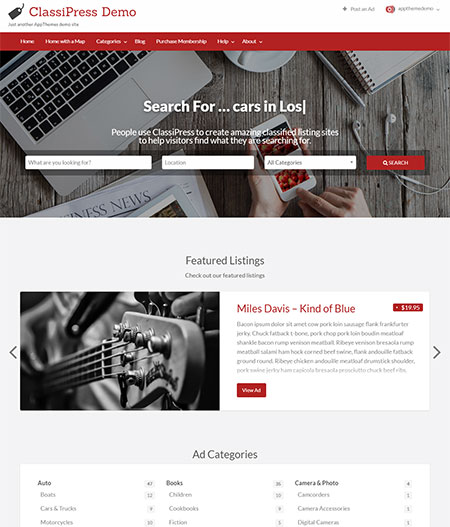 classipress-classified-wordpress-theme