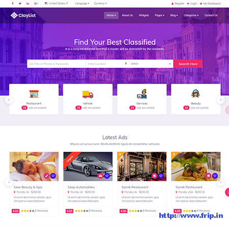 Claylist-Directory-Listing-HTML-Template
