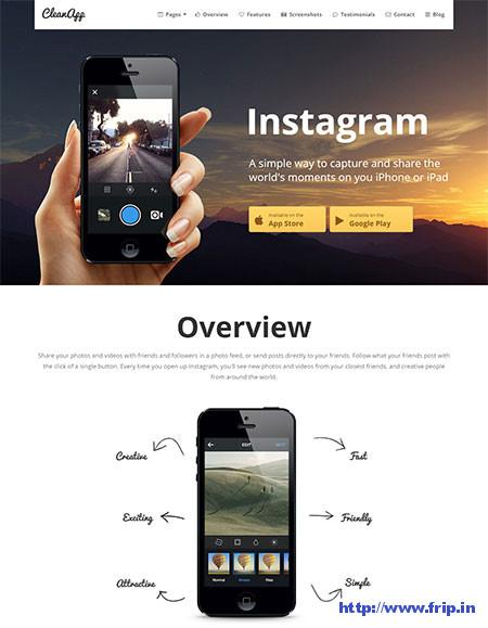 CleanApp-App-WordPress-Theme