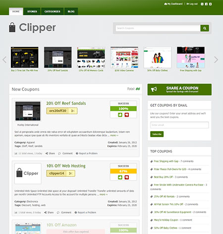 Clipper-WordPress-Theme
