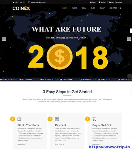 Coinex-Bitcoin-&-Cryptocurrency-HTML-Template
