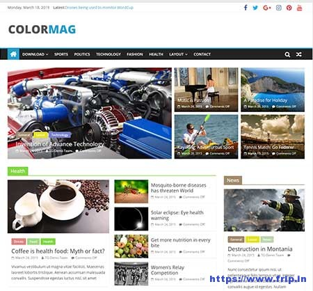 Colormag-free-WordPress-Theme