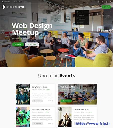 ConferPress-Event-Tickets-WordPress-Theme