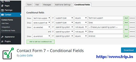 Contact-Form-7-Conditional-Fields