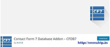 Contact-Form-7-Database-Addon