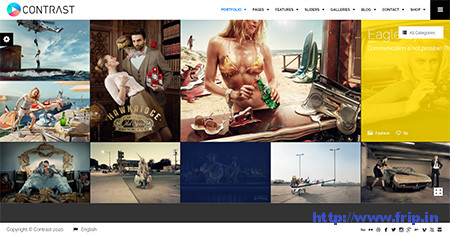Contrast-Portfolio-WordPress-Theme